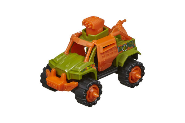 "Snap 'n Play Dinos vs. Trucks - 6 assorted (4"" / 10cm)"